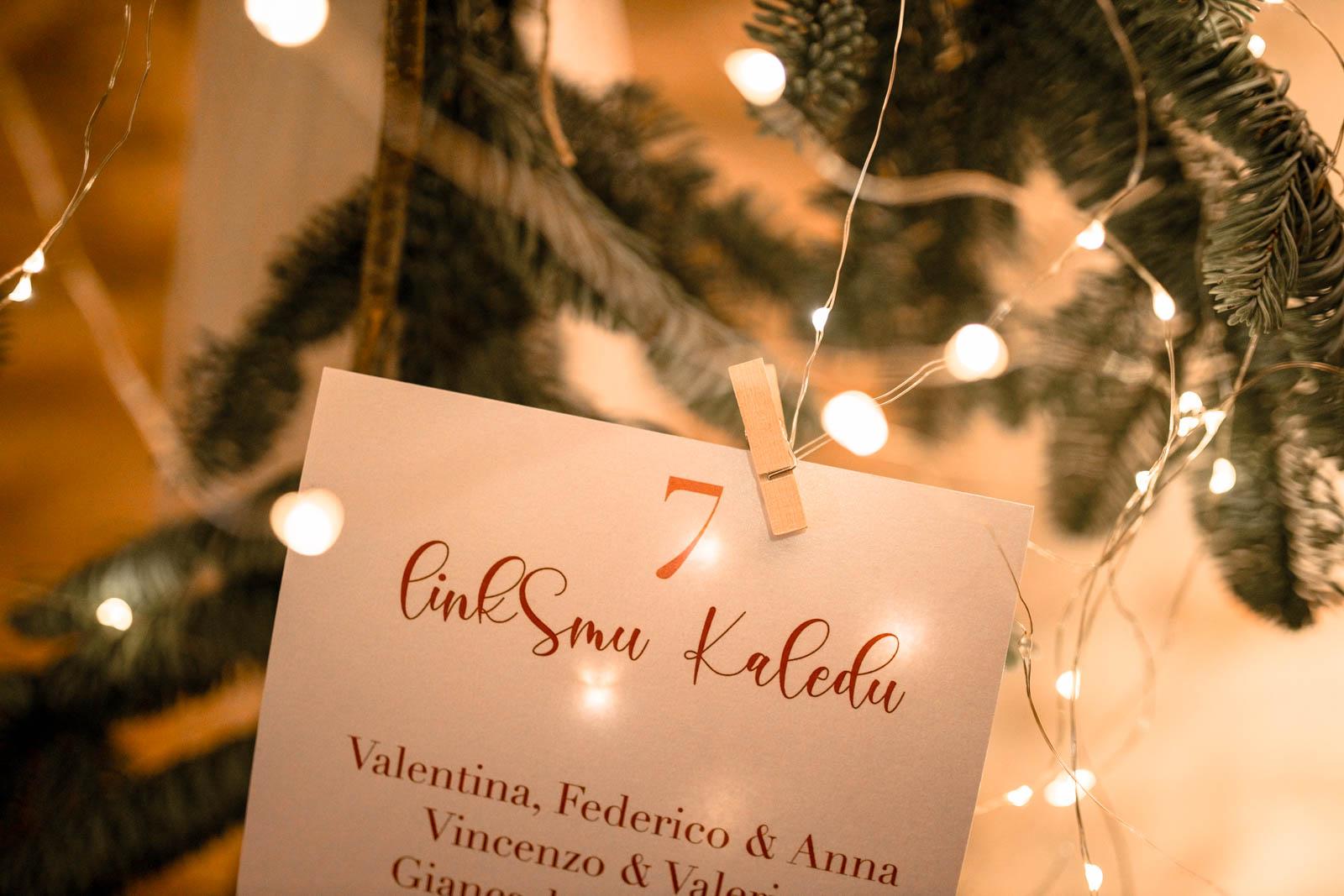 Tableau Natale Grazie Lingue